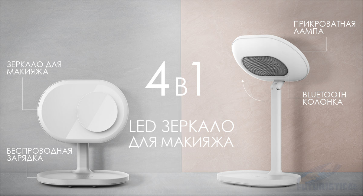 Nomax Q.LED Mirror
